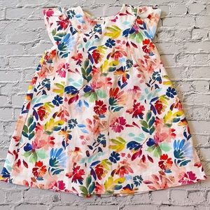 ZARA   Baby Girl Collection floral print dress